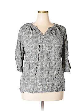 Ava Christine 3/4 Sleeve Blouse Size 2X (Plus)