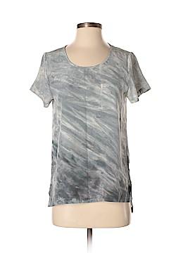 Cynthia Rowley TJX Short Sleeve Silk Top Size XS