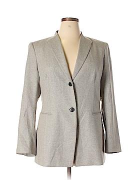 Lafayette 148 New York Silk Blazer Size 16