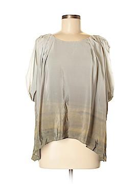 Julie Haus Short Sleeve Silk Top Size M