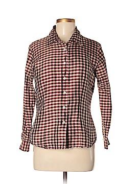Barami Long Sleeve Silk Top Size M