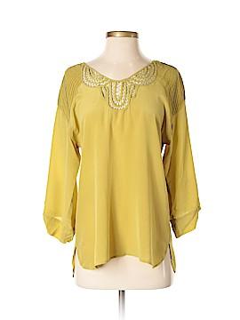 Rainn 3/4 Sleeve Silk Top Size S