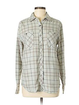 LA Hearts Long Sleeve Button-Down Shirt Size M