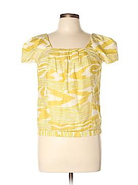 Sally Tseng Short Sleeve Blouse Size 6