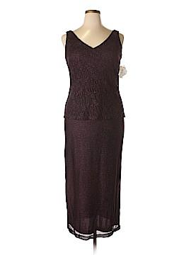 Jeffrey & Dara Evenings by Tom Barra Casual Dress Size 14 (Petite)