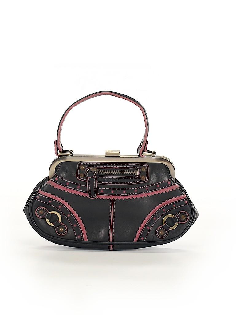 Rafe New York Women Leather Clutch One Size