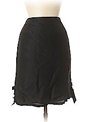 Teri Jon by Rickie Freeman Women Silk Skirt Size 8