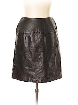 Emanuel by Emanuel Ungaro Leather Skirt Size 10