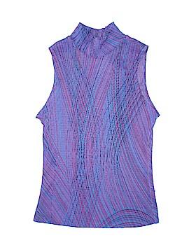 Aqua Blues Sleeveless Top Size L