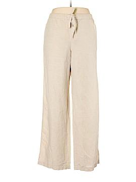 Liz Claiborne Linen Pants Size XL (Petite)