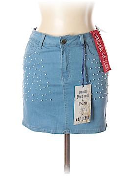 VIP Jeans Denim Skirt Size L