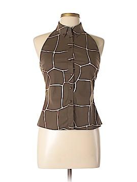 Miu Miu Sleeveless Button-Down Shirt Size 44 (EU)