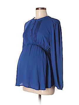 OCTAVIA Maternity Long Sleeve Blouse Size S (Maternity)