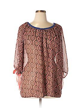 Umgee 3/4 Sleeve Blouse Size XL