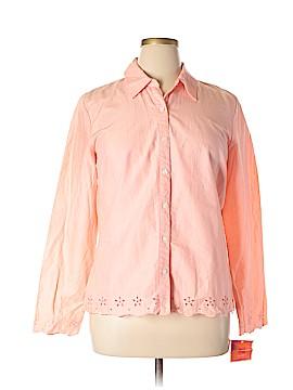 Isaac Mizrahi for Target Long Sleeve Button-Down Shirt Size XL