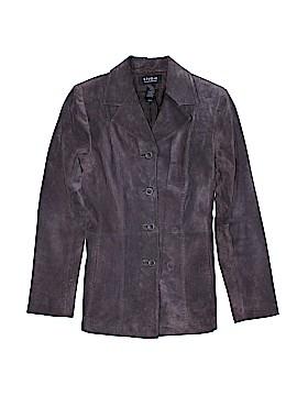 Studio by Liz Claiborne Leather Jacket Size M