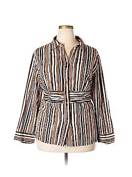 Maggie Barnes Long Sleeve Top Size 2X (Plus)