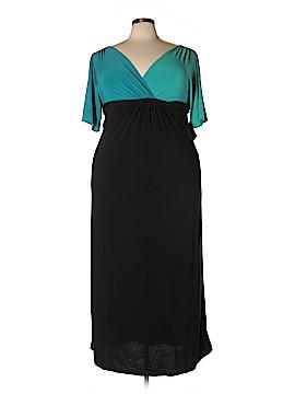 Kiyonna Casual Dress Size 0X (Plus)