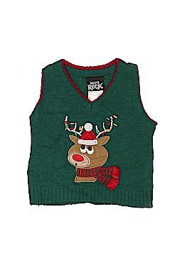 Boys Rock Sweater Vest Size 12