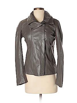 Barneys New York Leather Jacket Size XS