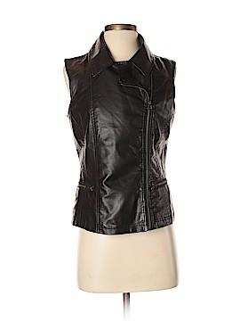 LAL Live A Little Faux Leather Jacket Size S