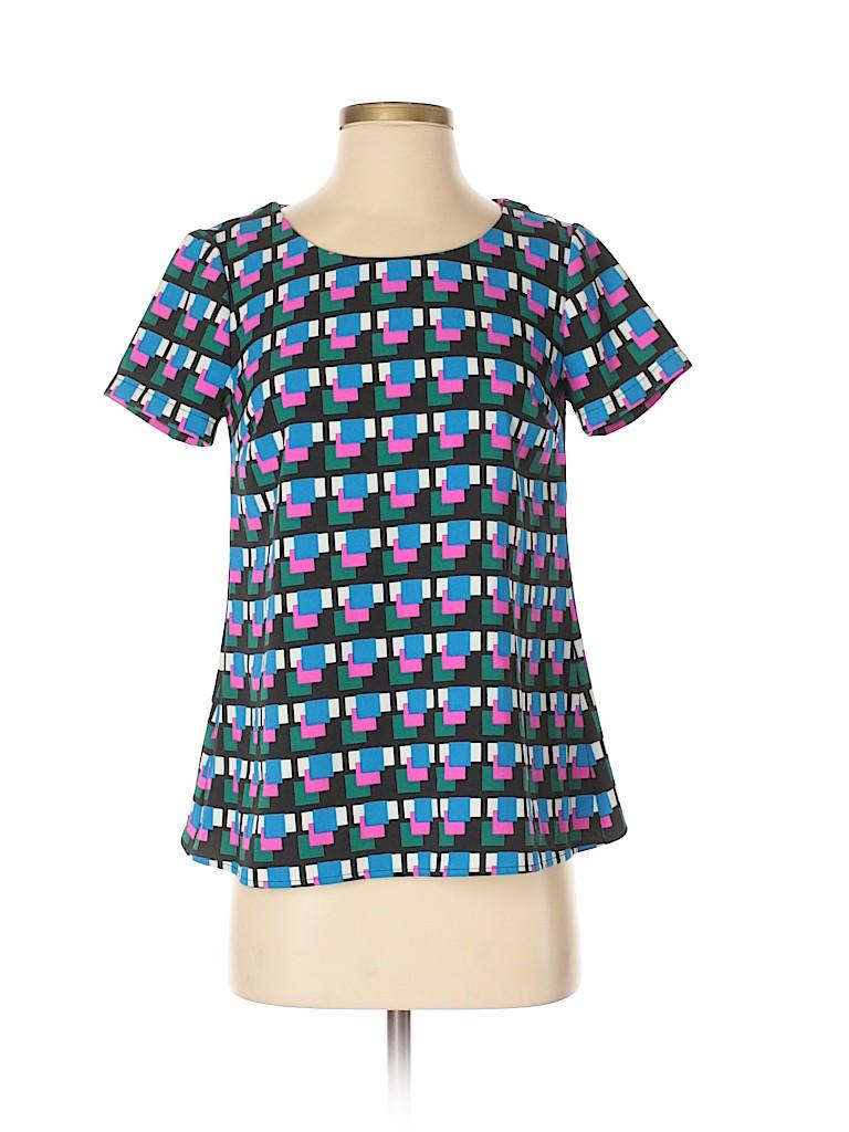 Cynthia by Cynthia Rowley Women Short Sleeve Top Size S