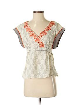 Floreat Short Sleeve Blouse Size 4