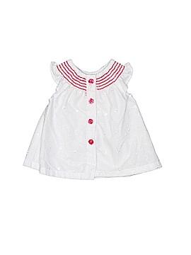 Penelope Mack Short Sleeve Blouse Size 3-6 mo