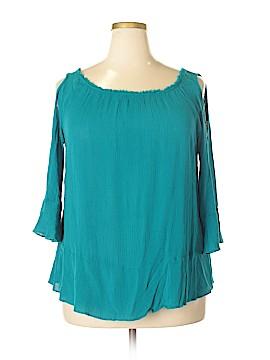 Cupio 3/4 Sleeve Blouse Size XL