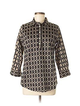 Gretchen Scott Designs 3/4 Sleeve Button-Down Shirt Size M