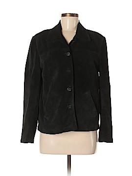 David Brooks Leather Jacket Size M