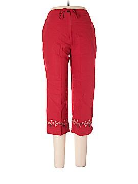 Sag Harbor Linen Pants Size 6 (Petite)