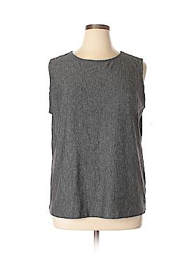 Vikki Vi Sleeveless T-Shirt Size 1X (Plus)