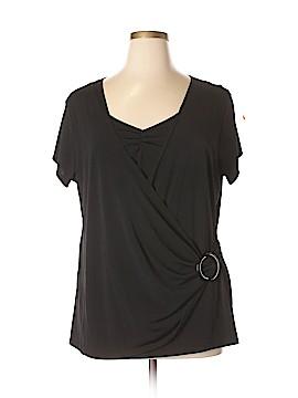 Sixteen Short Sleeve Top Size 3X (Plus)