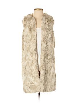 French Connection Faux Fur Vest Size 6