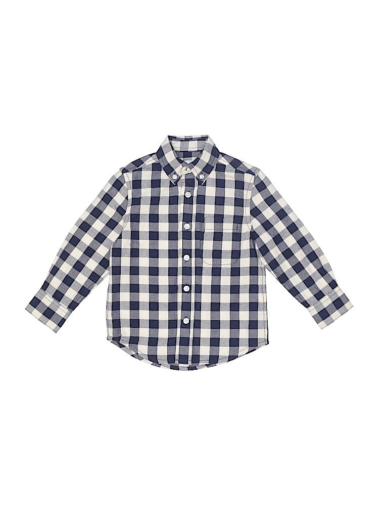 Class Club Boys Long Sleeve Button-Down Shirt Size 2 - 3