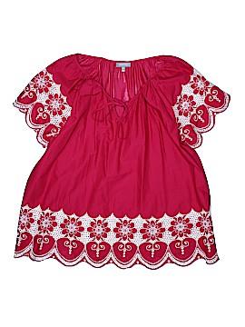 Essentials Short Sleeve Blouse Size 3X (Plus)