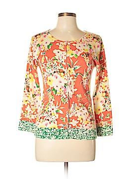 Charlotte Tarantola Silk Cardigan Size L