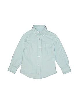 Class Club Long Sleeve Button-Down Shirt Size 2 - 3
