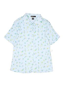 Bill Blass Jeans Short Sleeve Button-Down Shirt Size M
