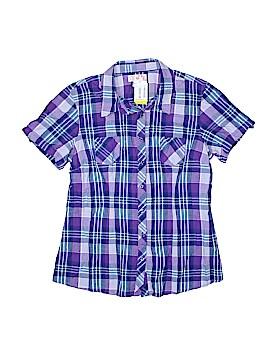 Op Short Sleeve Button-Down Shirt Size XL