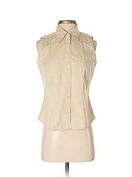 Eddie Bauer Sleeveless Button-Down Shirt Size S (Petite)