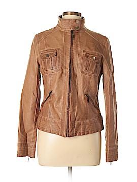 MAX Faux Leather Jacket Size L