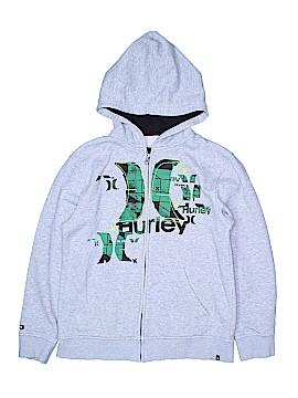 Hurley Zip Up Hoodie Size M (Kids)