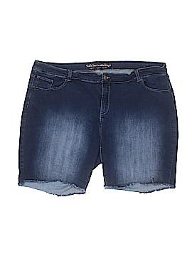 Soft Surroundings Denim Shorts Size 24 (Plus)