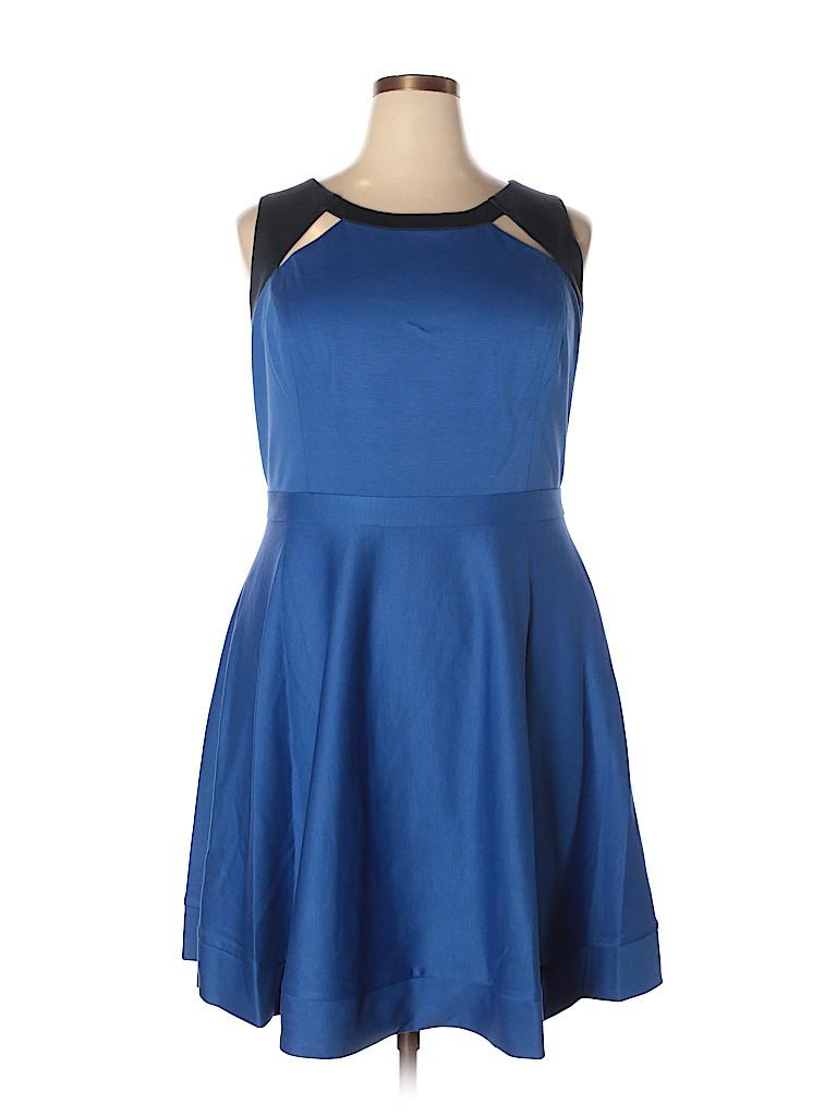 MBN Women Casual Dress Size 3X (Plus)