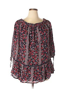 Como Vintage 3/4 Sleeve Blouse Size 2X (Plus)
