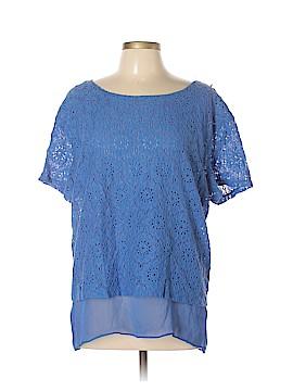 Ruby Rd. Short Sleeve Blouse Size XL