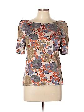 Comptoir des Cotonniers Short Sleeve Silk Top Size 42 (FR)