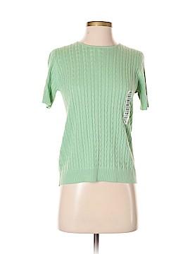 Sutton Studio Short Sleeve Silk Top Size S